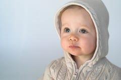 毛线衣婴孩 图库摄影