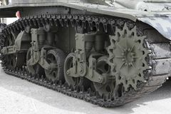 毛虫坦克我 免版税库存图片
