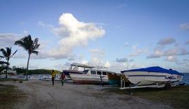 毛里求斯海岛海景  库存图片