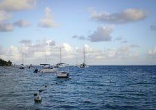 毛里求斯海岛海景  免版税库存照片