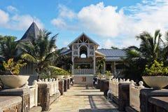 毛里求斯海岛风景 图库摄影