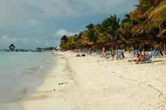 毛里求斯海滨 库存照片