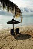 毛里求斯海滨 图库摄影
