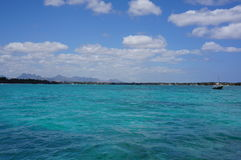 毛里求斯盛大baie海湾视图 库存照片