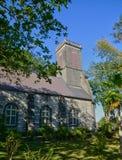 毛里求斯, Pamplemousse历史教会  免版税库存图片