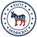 民主党印花税 免版税库存照片