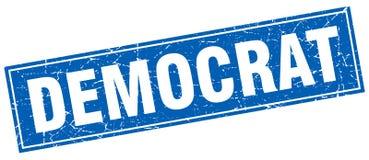 民主党邮票 向量例证