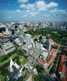 民事地区新加坡 库存图片