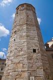 民事塔。阿米莉雅。翁布里亚。意大利。 免版税库存图片