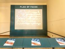 移民博物馆内部看法  免版税库存图片