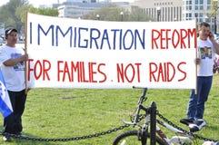移民改革 免版税图库摄影