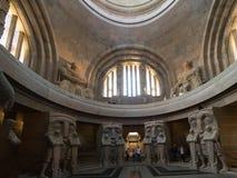 民族大会战纪念碑的内部,莱比锡 免版税库存照片