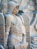 民族大会战纪念碑的细节,莱比锡 免版税库存照片