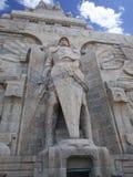 民族大会战纪念碑,莱比锡 免版税库存图片