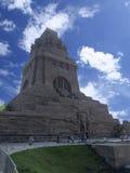 民族大会战纪念碑,莱比锡 图库摄影