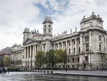 民族志学博物馆在布达佩斯,匈牙利 库存照片
