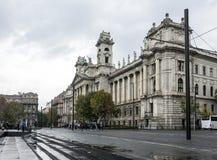 民族志学博物馆在布达佩斯,匈牙利 免版税图库摄影