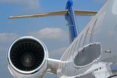 民用的飞机 免版税库存图片