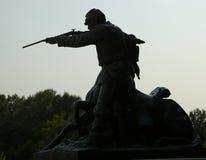 民用munument vicksburg战争 免版税库存照片