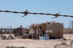 贫民窟在埃及市 免版税库存图片