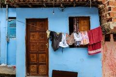 贫民窟房子 免版税图库摄影