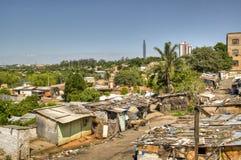 贫民窟 免版税库存照片