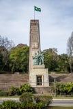 移民纪念碑-南卡希亚斯,南里奥格兰德州,巴西 免版税库存图片