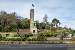 移民纪念碑-南卡希亚斯,南里奥格兰德州,巴西 图库摄影