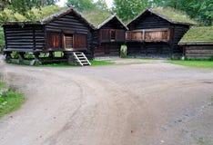 民间博物馆挪威 免版税库存图片