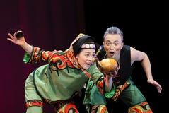 民间的舞蹈演员 免版税图库摄影