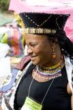 民间艺术市场年度活动在Santa Fe, NM美国 图库摄影