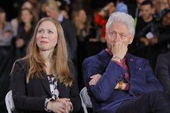 民主党总统候选人希拉里・克林顿竞选在拉斯维加斯,内华达 图库摄影