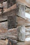 民间建筑学的纪念碑- Hamous ` s农场在16世纪的Zbecno,捷克 免版税图库摄影