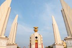 民主纪念碑在曼谷,泰国。 库存图片