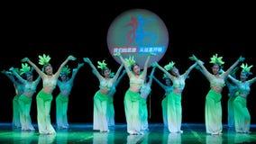 民间舞:一朵美丽的茉莉花 免版税库存图片