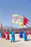 民间gyeongbokgung韩国博物馆国民宫殿 免版税图库摄影