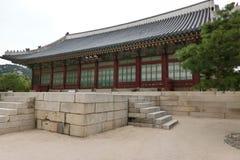 民间gyeongbokgung韩国博物馆国民宫殿 免版税库存图片