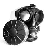 气体人屏蔽海运 免版税库存图片