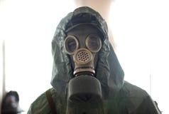 气体人屏蔽海运 免版税图库摄影