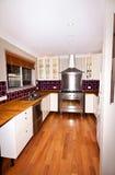 气体厨房现代火炉 免版税图库摄影