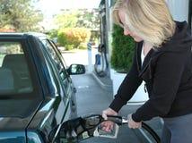 气体抽 免版税库存图片