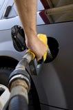 气体汽油抽 免版税库存图片