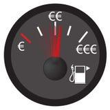 气体测量仪 免版税库存照片