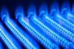 气体火焰 免版税库存图片