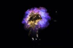 气体的火球 免版税库存图片