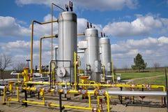 气体管道存贮 免版税库存图片