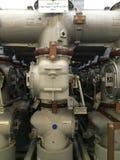 气体绝缘高压的开关 免版税库存图片