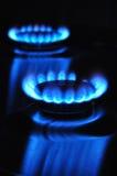气体能量火焰 免版税图库摄影