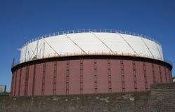 气体自然储存箱 库存照片