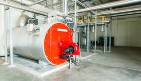 气体蒸汽锅炉 免版税库存图片